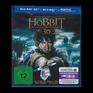 Der Hobbit Die Schlacht Der Fünf Heere 3d Blu-Ray