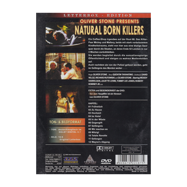 Natural Born Killers Uncut