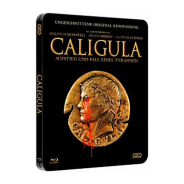 Caligula - LIMITED BLU RAY STEELBOOK - 2 Disc Edition - UNRATED & INDIZIERT