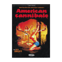 American Cannibale / Big Snuff - UNCUT & UNRATED KLEINE HARTBOX - Cover A