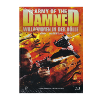 Army of the Damned - UNCUT LIMITED (500 St.) MEDIABOOK Cover B - DVD & Blu Ray