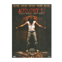 Autopsy II / 2 - Black Market Body Parts - UNCUT & UNRATED LIMITED (1.000 St.) MEDIABOOK Blu Ray & DVD