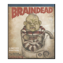 Braindead - INDIZIERTES & UNRATED BOOTLEG - LIMITED 33 Stück Blu Ray & DVD Cover B