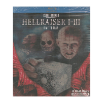 Hellraiser Trilogy - Teile I-III - UNCUT & UNRATED STEELBOOK - Blu Ray