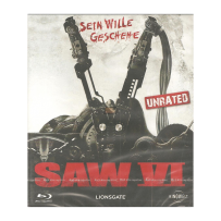 Saw VI / 6 - UNCUT & INDIZIERTE UNRATED EDITION - Blu Ray