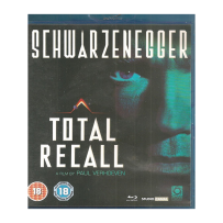 Total Recall - UNCUT UK Bluy Ray mit deutschem Ton