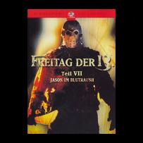 Freitag der 13. - Teil 7 / VII - Jason im Blutrausch - ERSTAUFLAGE - Gebraucht