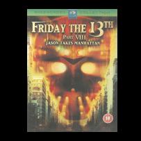 Freitag der 13. - Teil 8 / VIII - Jason Takes Manhatten - UK ERSTAUFLAGE mit deutschem Ton