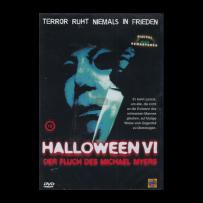 Halloween VI / 6 - Der Fluch des Michael Myers - UNCUT & INDIZIERT