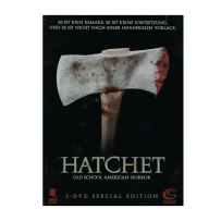 Hatchet 1 - UNCUT 2 DVD SPECIAL EDITION STEELBOOK