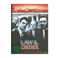 Law & Order - Staffe/Seasonl 1 - UNCUT ERSTAUFLAGE