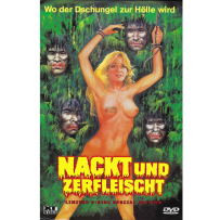 Nackt und zerfleischt (Cannibal Holocaust) - UNCUT & UNRATED INDIZIERTE LIMITED (667 St.) GROSSE HARTBOX Cov. A