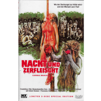 Nackt und zerfleischt (Cannibal Holocaust) - UNCUT & UNRATED INDIZIERTE LIMITED (667 St.) GROSSE HARTBOX Cov. B
