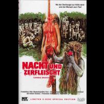 Nackt und zerfleischt (Cannibal Holocaust) - UNCUT & UNRATED INDIZIERTE LIMITED (667 St.) GROSSE HARTBOX Cov. B