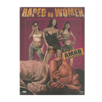 Raped by Women - UNCUT & UNRATED LIMITED (500 St.) MEDIABOOK Cover A - DVD & Blu Ray