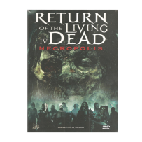Return of the Living Dead 4 / IV Necropolis - UNCUT & UNRATED & INDIZIERTES LIMITED (500 St.) MEDIABOOK - DVD