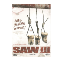 Saw III / 3 - UNCUT & INDIZIERTE R-RATED FASSUNG