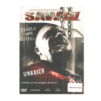 Saw IV / 4 - UNCUT & UNRATED LIMITED MEDIABOOK - DVD