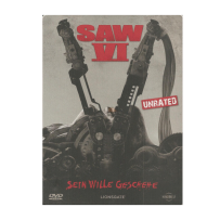 Saw VI / 6 - UNCUT & INDIZIERTE UNRATED STEELBOOK EDITION