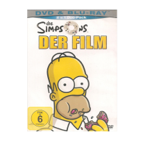Die Simpsons - Der Film - DVD & Blu Ray Duopack