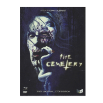 The Cemetery - UNCUT & UNRATED LIMITED (666 St.) 3 DISC MEDIABOOK Cover A - DVD & Blu Ray