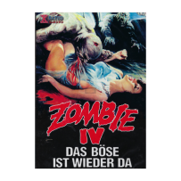 Zombie 4 / IV - After Death - UNCUT & UNRATED KLEINE HARTBOX