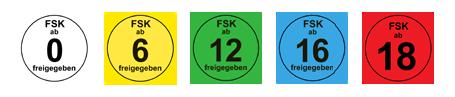 FSK Altersempfehlungen